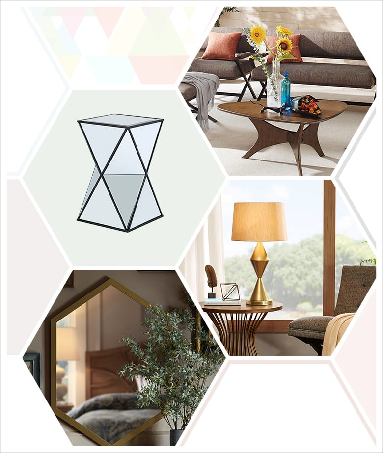 Geometric-inspired Decor ldeas: Furniture and Decor