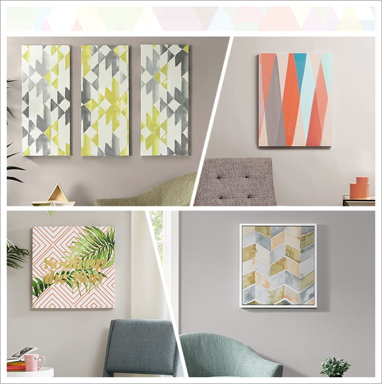Geometric-inspired Decor ldeas: Wall Art