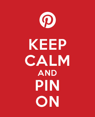 Keep Calm and Pin On