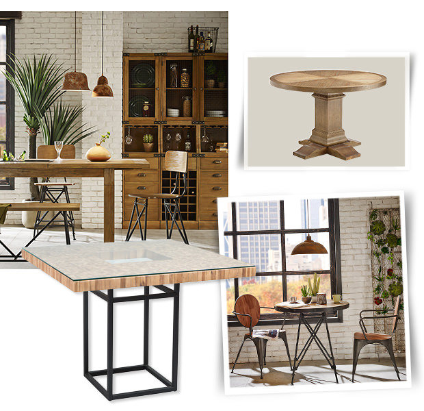 Dining Room: Tables