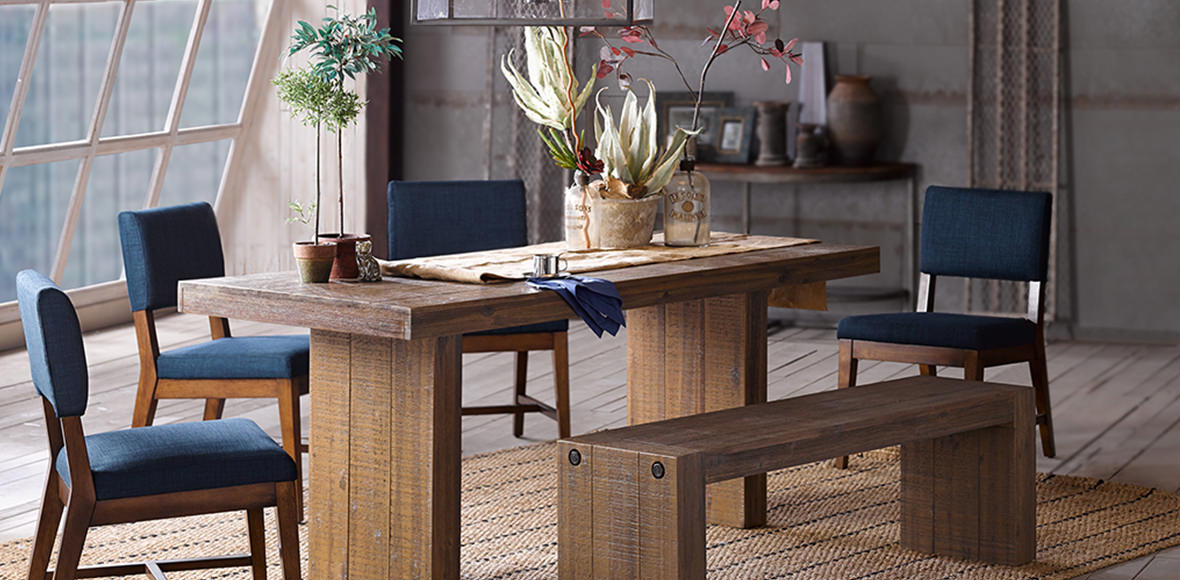 Dining Room: Mix And Match Pieces For Gathering Together