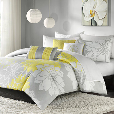 Lola 6 Piece Printed Duvet Cover Set
