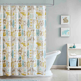 Youth Bath Shower Curtains