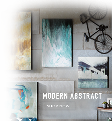 Modern Abstract Wall Art for Narrow