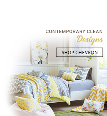 Chevron Chic Home for Narrow