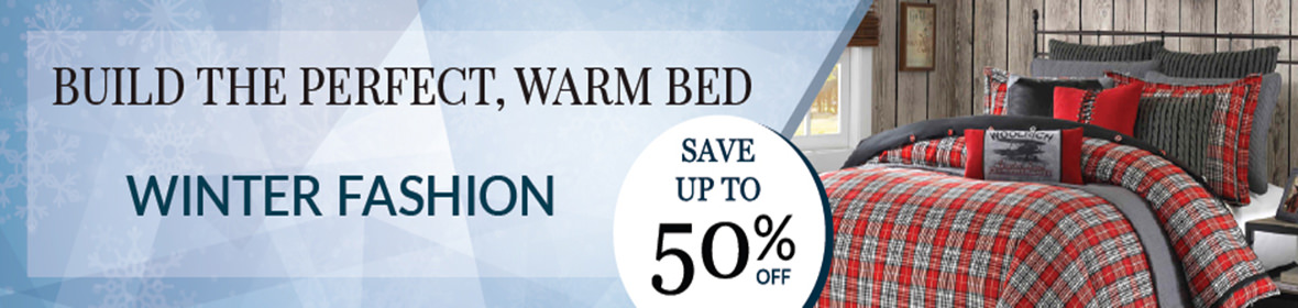 winter fashion bedding