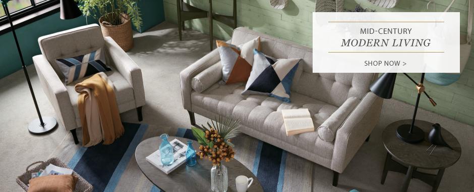 Mid CentruyModernLiving furniture