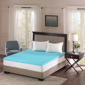 Bedding showcase mattress pads and toppers