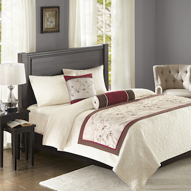 Bedding showcase bed runners