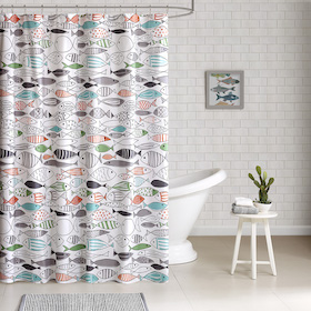 Youth showcase Shower curtain