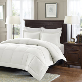 Bedding showcase comforters and duver fillers