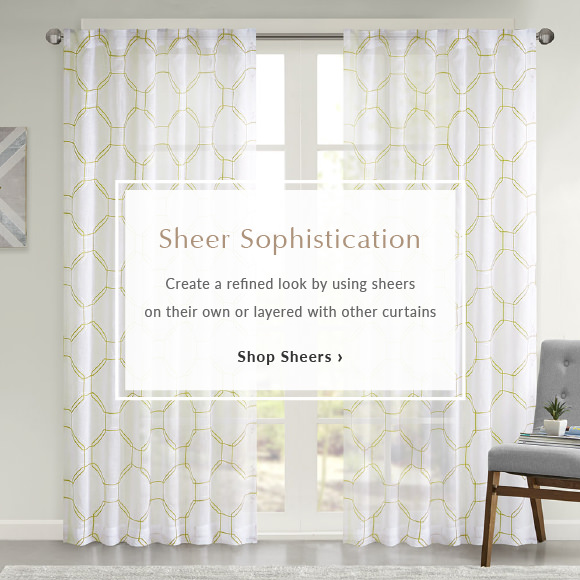 window showcaseAug sheers