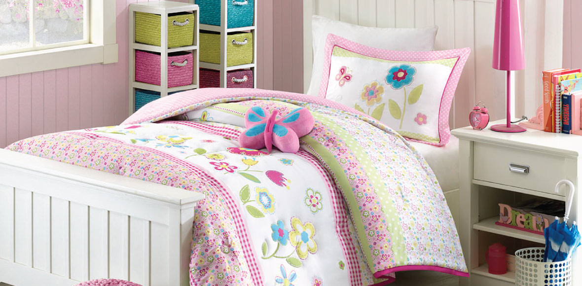 Kids Spring Bloom Bedroom