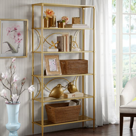 092017 Showcase LivingRoom BOOKCASES SHELVING