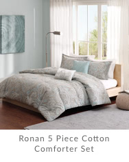 Ronan 5 Piece Cotton Comforter Set