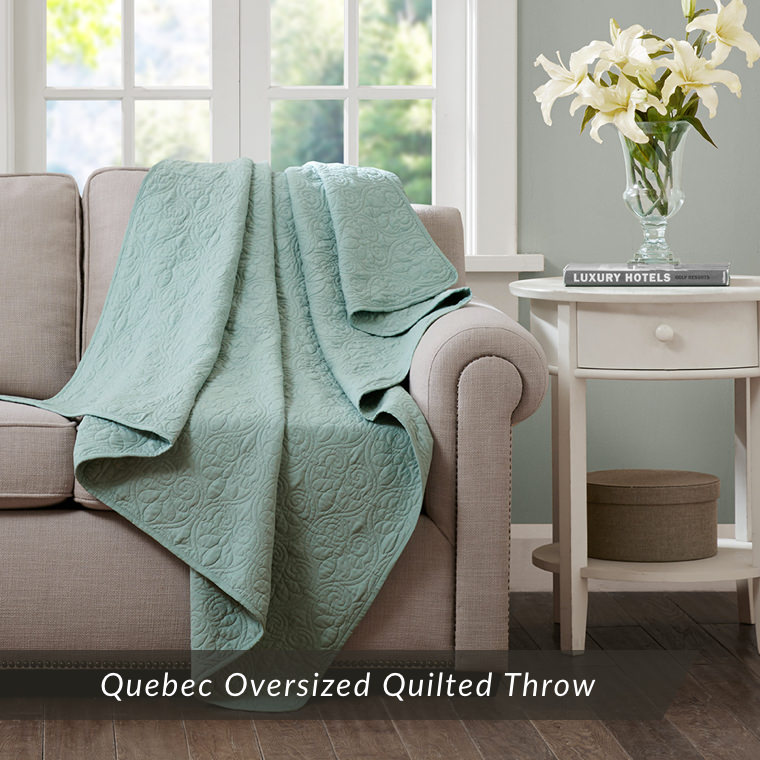 Quebec Oversized Quilted Throw