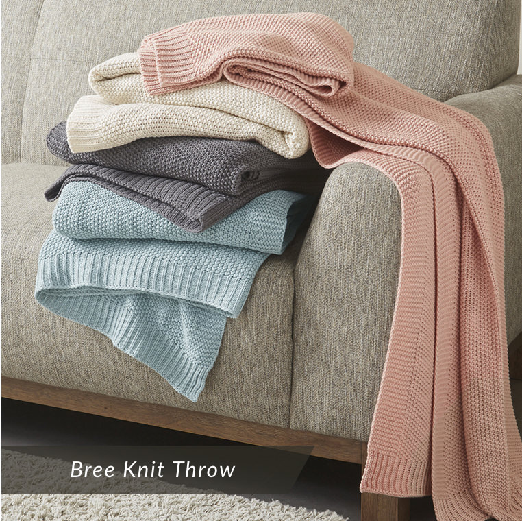 Bree Knit Throw